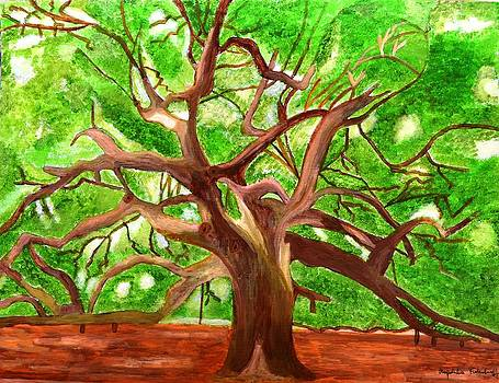 Oak Tree by Magdalena Frohnsdorff