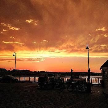 #oakbluffs #marthasvineyard #sunset by Eugene Bergeron