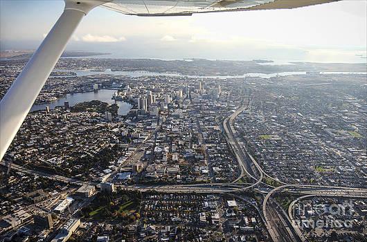 Oakland From Above by Hugh Stickney