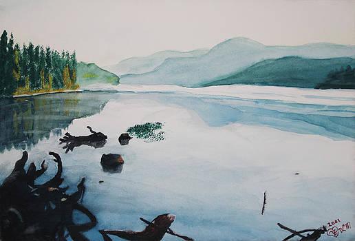 Oakridge Reservoir #2 by Dawna Morton