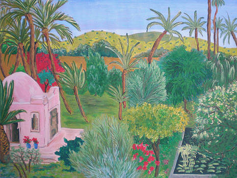 Oasis garden by Alix Mordant