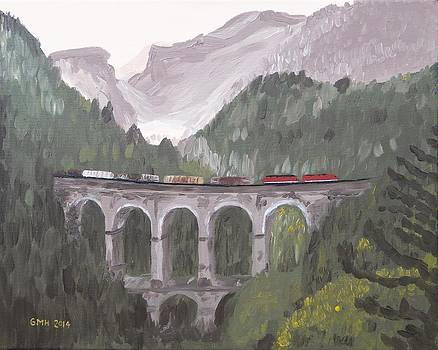 OBB Austria Rail 1144 at Breitenstein by Glenn Harden