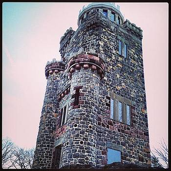 Observatory At #lambert_castle On by Teresa Delcorso