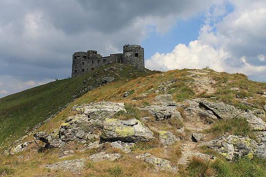Observatory on the Pip Ivan Mountain by Pavlo Kuzyk