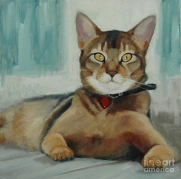 Obsidian Cat by Pet Whimsy  Portraits