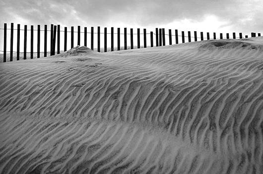 OBX fence II by Brad Emerick