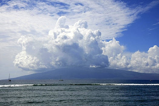 Ocean and Clouds by Gladys Turner Scheytt
