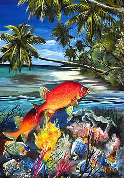Ocean art-1 by Naushad  Waheed