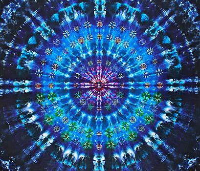 Ocean Bloom Mandala by Courtenay Pollock