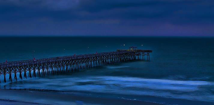 Ocean Blue by Dave Bosse