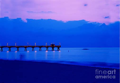 Ocean Blue by Thomas Levine