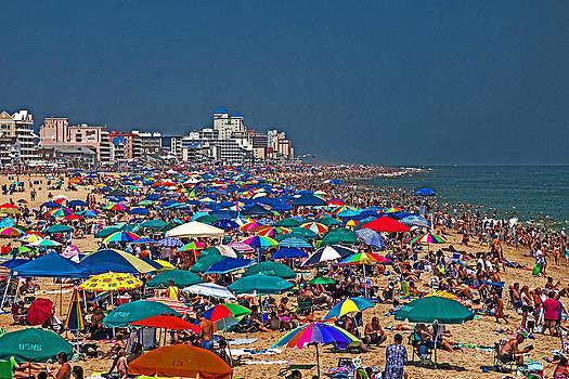 Bill Swartwout Fine Art Photography - Ocean City Beach Fun Zone