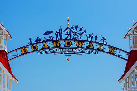 Bill Swartwout Fine Art Photography - Ocean City Boardwalk Arch