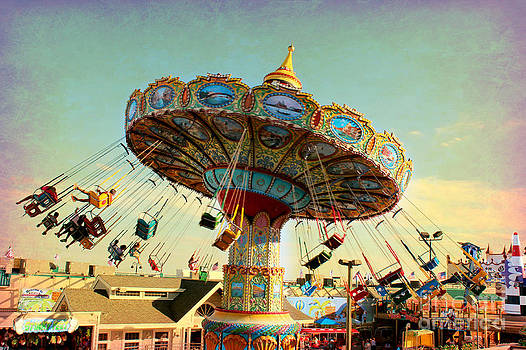 Ocean City NJ Carousel Swing Time by Beth Ferris Sale