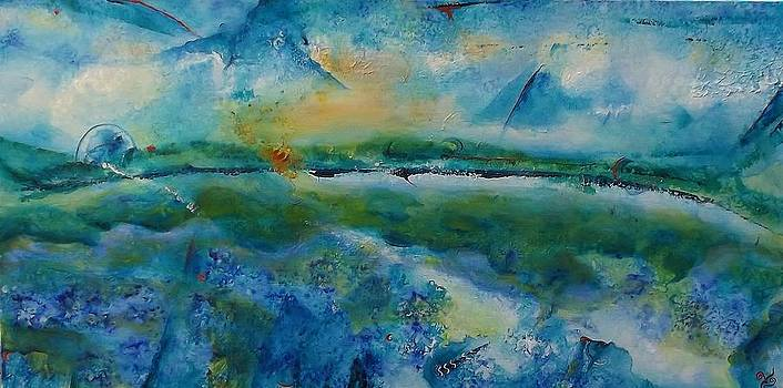 Ocean Currents - Cape Reinga 3 by Chris Keenan