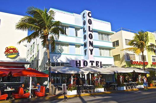 Ocean Drive Colony Hotel by Galexa Ch