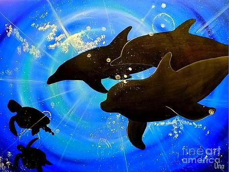 Ocean life by Una  Miller