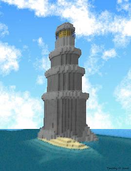 Ocean Light House by Timothy Jones