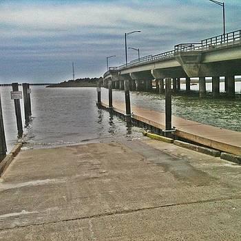 #ocean #posts #water #shore #beach #sky by Matthew Loving