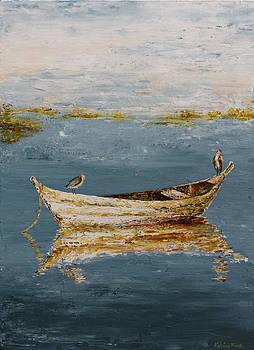 Ocean Row Boat II by Katrina Nixon