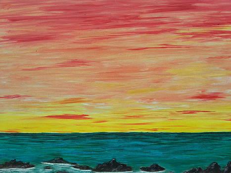 Ocean Sky by Diana Garcia