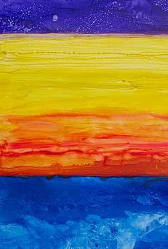 Patricia Beebe - Ocean Sunrise At 30k Feet