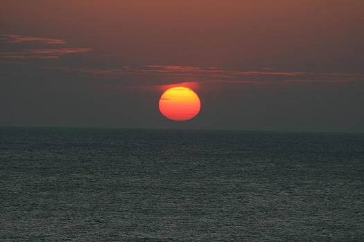 Ocean Sunrise Serenity by Beth Andersen