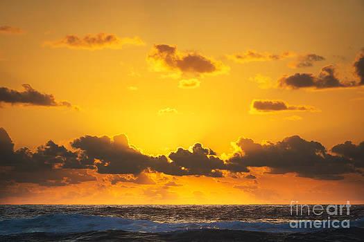 Tim Hester - Ocean Sunrise Clouds