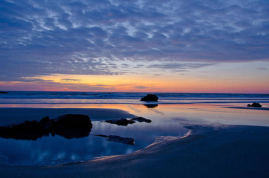 Ocean Sunrise by Donna Doherty