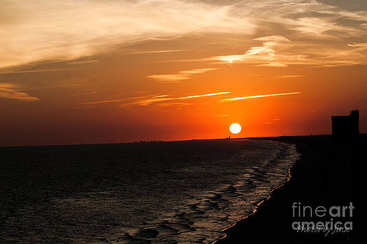 Ocean Sunset 2 by Jinx Farmer