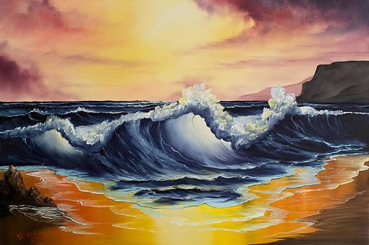 Chris Steele - Ocean Sunset
