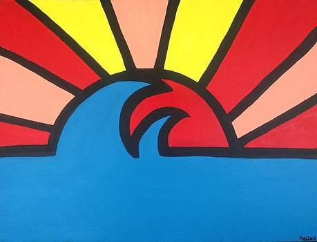 Ocean Sunset by Eddie Pagan