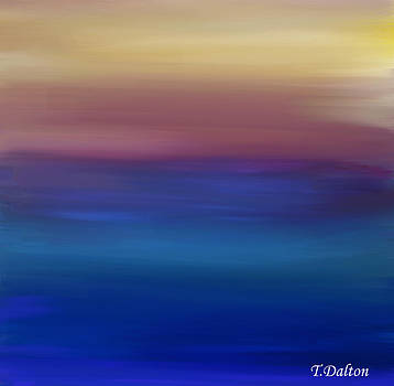 Ocean Sunset by Traci Dalton
