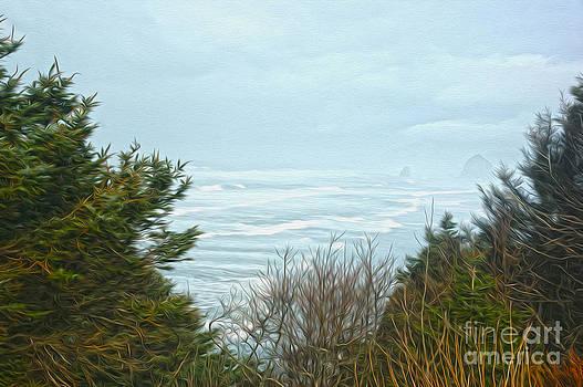 Ocean Trees by Nur Roy