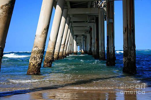 Ocean Under Pier by Sarah Sutherland