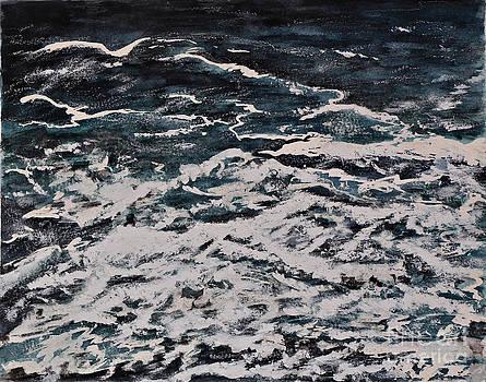 Ocean Waves by Marie Lewis