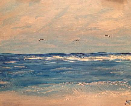 Ocean Waves by Michelle Treanor