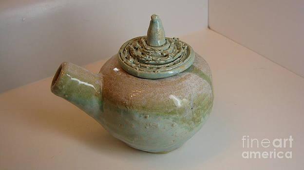 Oceanic Teapot by Laura Chorba