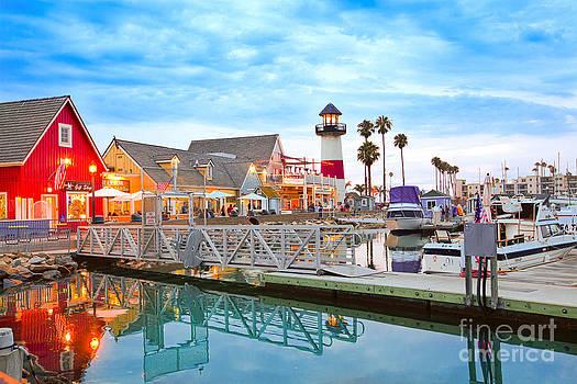 Oceanside Harbor California by Christy Woodrow