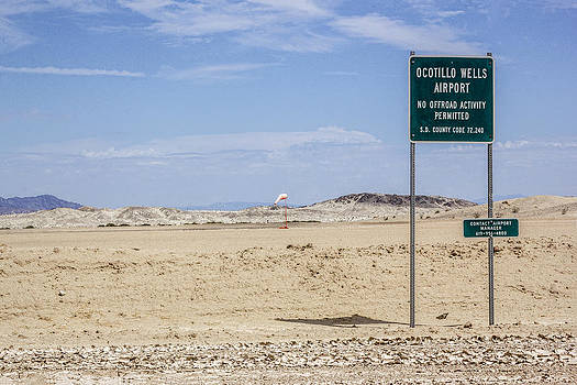 Ocotillo Wells Airport by Photographic Art by Russel Ray Photos