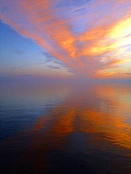 Ocracoke NC Sunrise by Joan Meyland