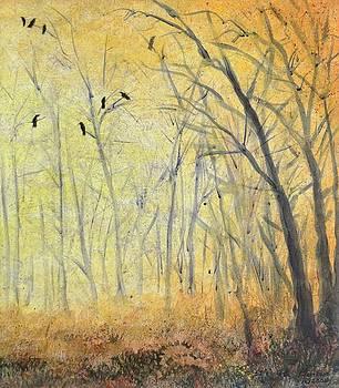 October Crow Three by Kenny Henson