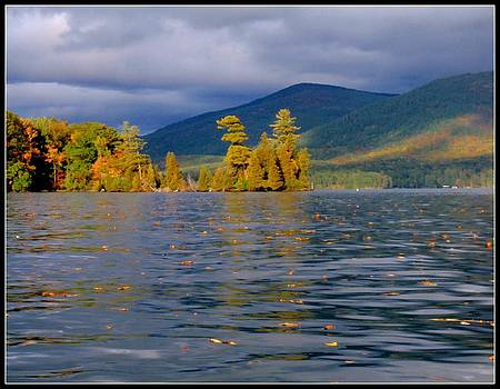 October on the Lake by Linda Seifried