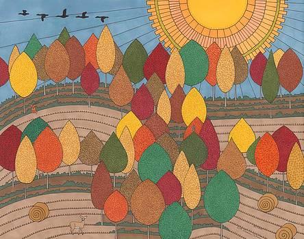 October by Pamela Schiermeyer