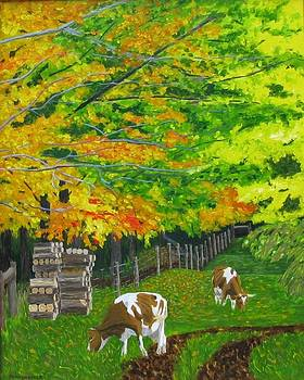 October Pasture by Barb Pennypacker