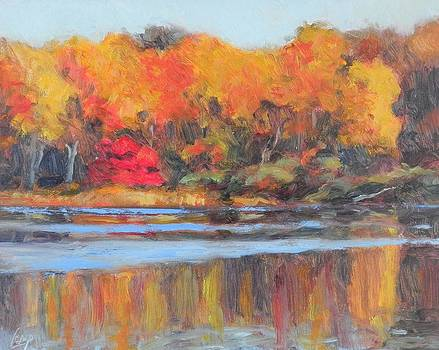 October Pond by Michael Camp
