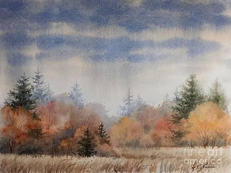 October Rain by Varvara Harmon