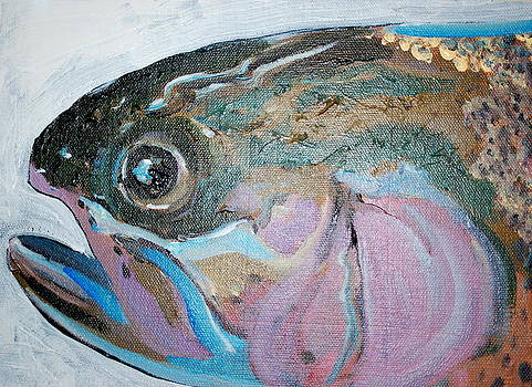 October Trout by Carrington Brown