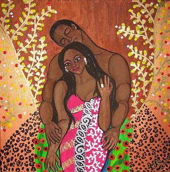 Ode to Klimt 2  by Jennifer Mourin
