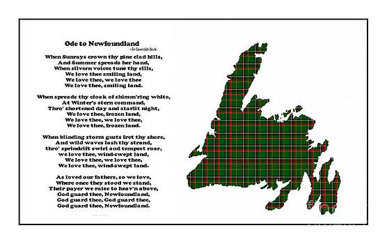 Barbara Griffin - Ode to Newfoundland with Tartan Small Plaid